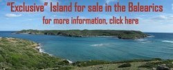 For sale island in the Mediterranean